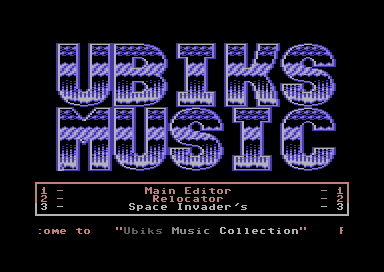 Ubiks Music Collection
