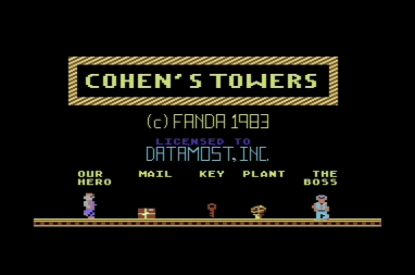Cohen's Towers +3