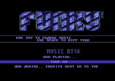 Funky Music Disk #1