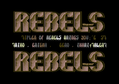 Rebels Intro