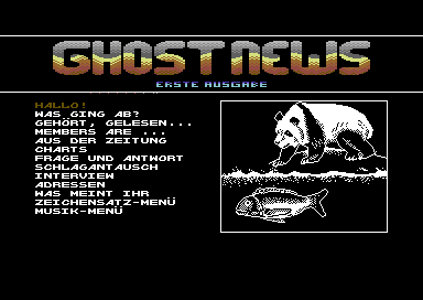 Ghost News #1