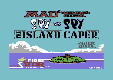 Spy vs. Spy II - The Island Caper