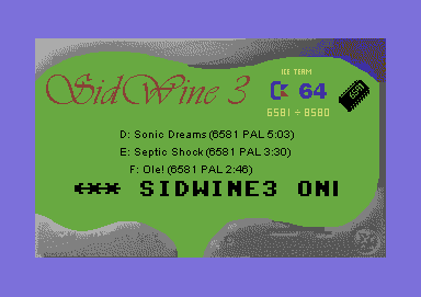 SidWine3 Vote Pack