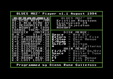 Blues Muz' Player V1.1