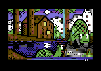 Turtles Petscii