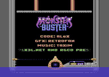 Monster Buster [16kb cartridge]