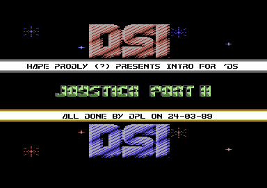 Intro for DSI