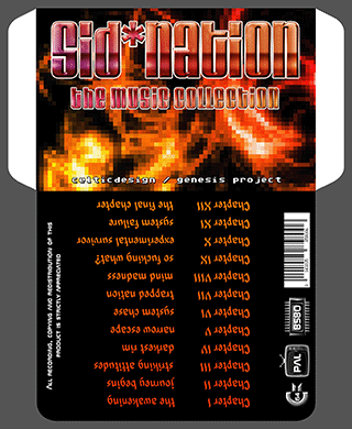 Sid*Nation - The Music Collection Cover