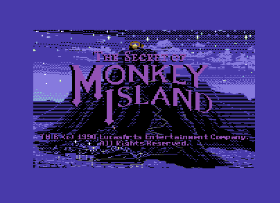 Monkey Island Title Demo