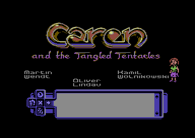 Caren and the Tangled Tentacles [compo version 1.0]