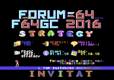 F64GC 2016 Invitation