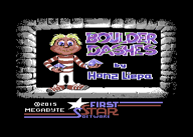 The Commodore 64 Scene Database|Boulder Dashes