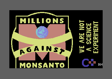 Millions against Monsanto