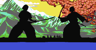 C64hq header graphics Samurai Theme