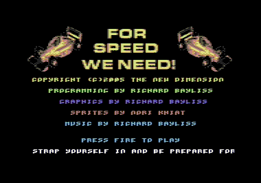 For Speed We Need V2!