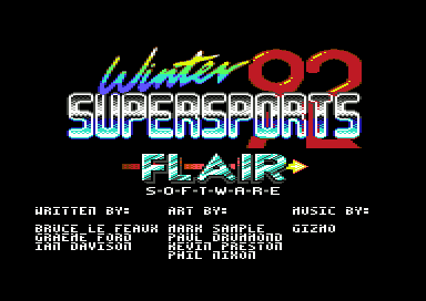 Winter Supersports 92 [1581]