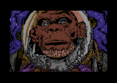 Ape in Space