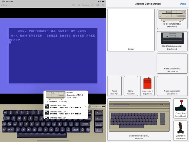 CSDb] - C64 V1 1 - A Commodore 64 Emulator for iPad by Dillo
