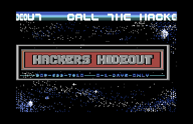 Hackers Hideout Demo 1