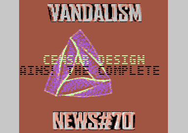 Vandalism News #70 Headlines