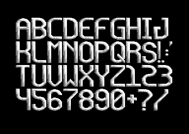 Round and Long (3 Colour Font)