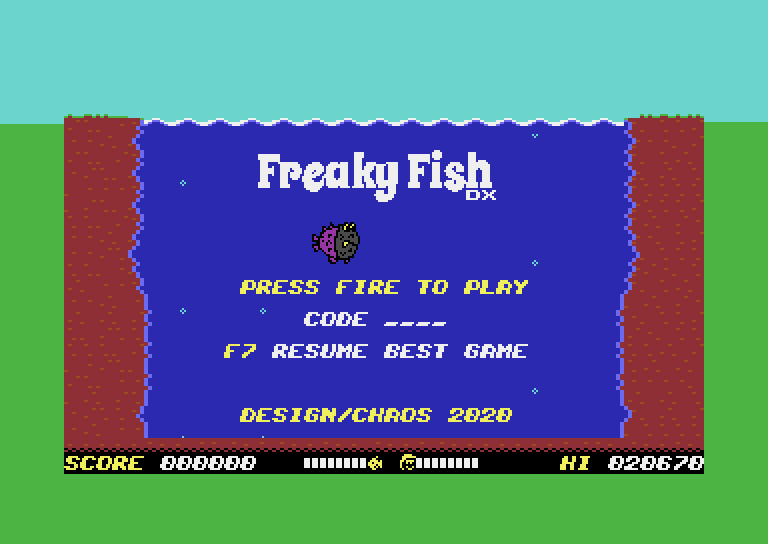 Freaky Fish DX V1.1