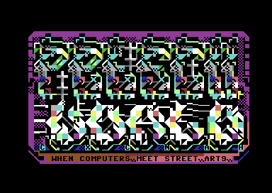 PETSCII WORLD - When Computers Meet Street Arts (Xmas 2020 Edition)