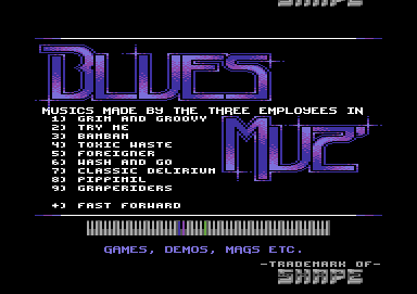 Blues Muz' Pack II