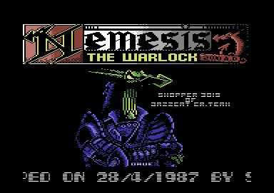 Nemesis the Warlock Music & Loader Picture