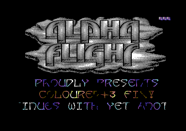 Alpha Flight Intro