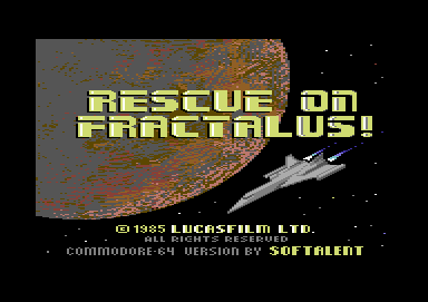 Rescue on Fractalus +9