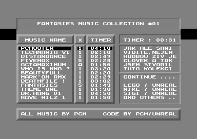 Fantasies Music Collection #01