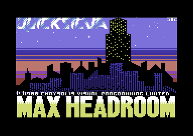 Max Headroom +3D +Pic