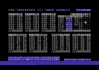 CRD-Tracker64 (alpha version)