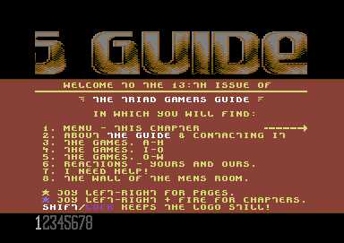 Gamers Guide #13