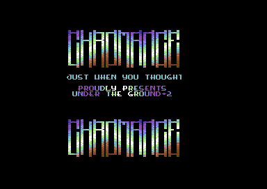 Under the Ground +2H [pal/ntsc]