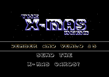 The X-Mas Demo