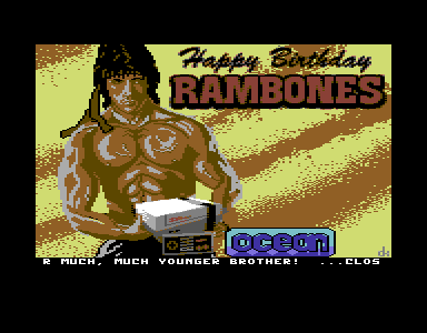 Happy Birthday Rambones