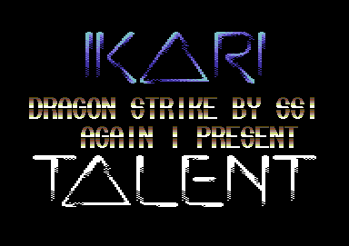 Ikari & Talent Intro v1 by <C>