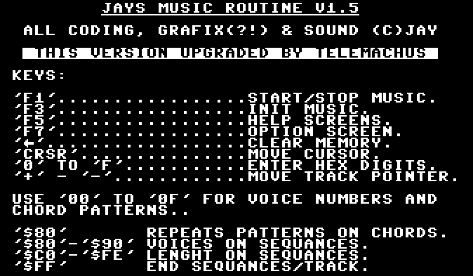 Jays Music Routine v1.5