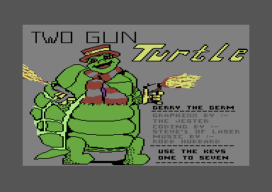 Two Gun Turtle
