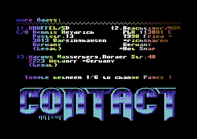 Contact #1