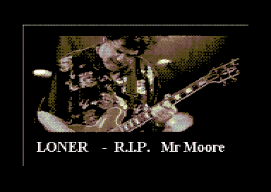 Loner - RIP Mr Moore